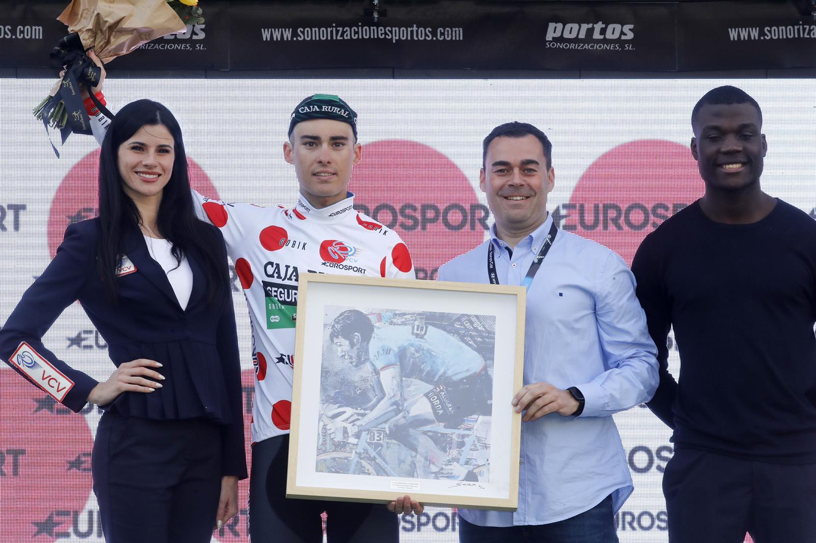 Gonzalo Serrano certifica en Valencia su maillot de la montaña