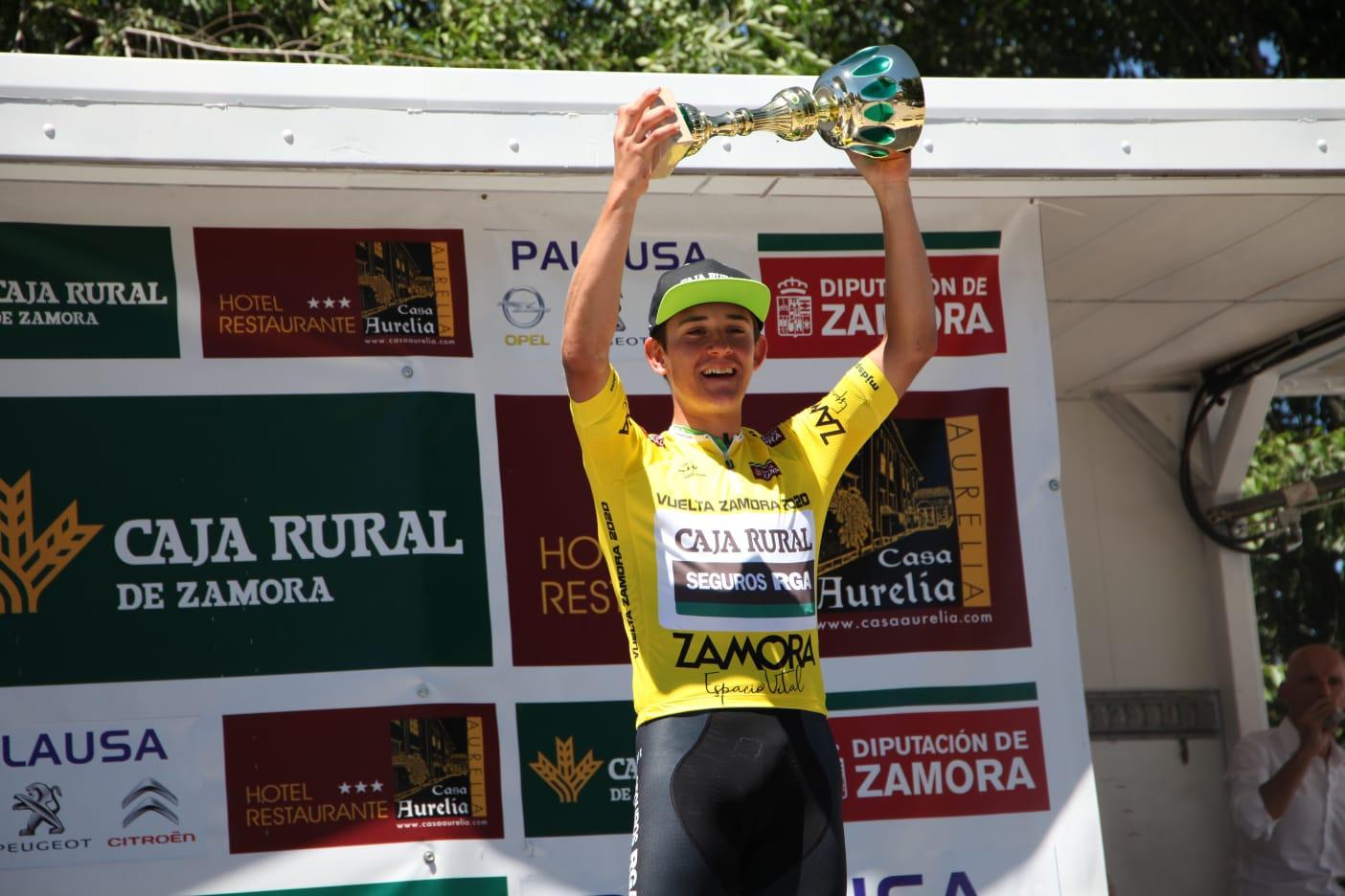 Josu Etxeberria certifica su victoria en la Vuelta a Zamora