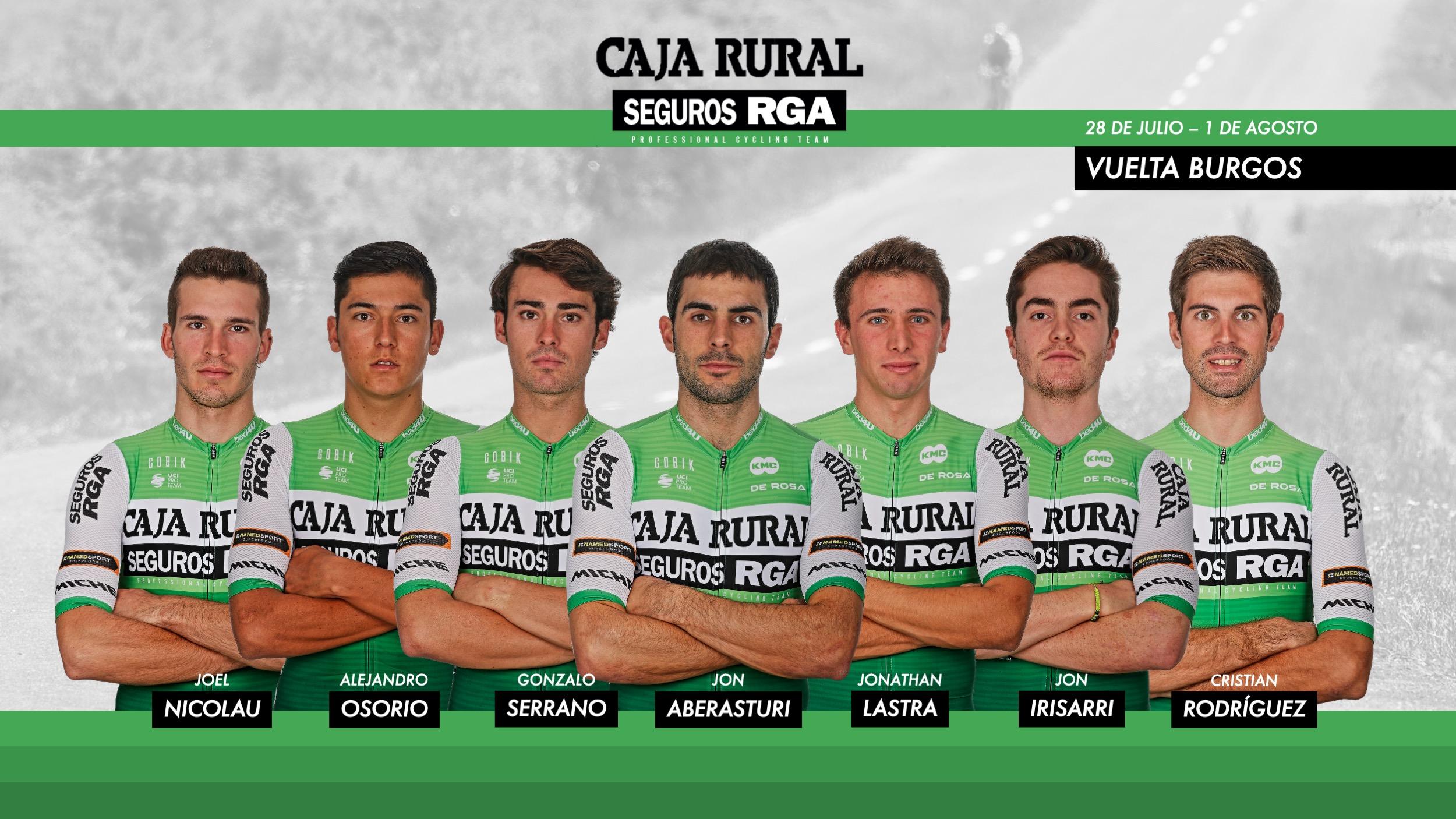 Caja Rural-Seguros RGA arranca en Burgos el tramo decisivo de la temporada
