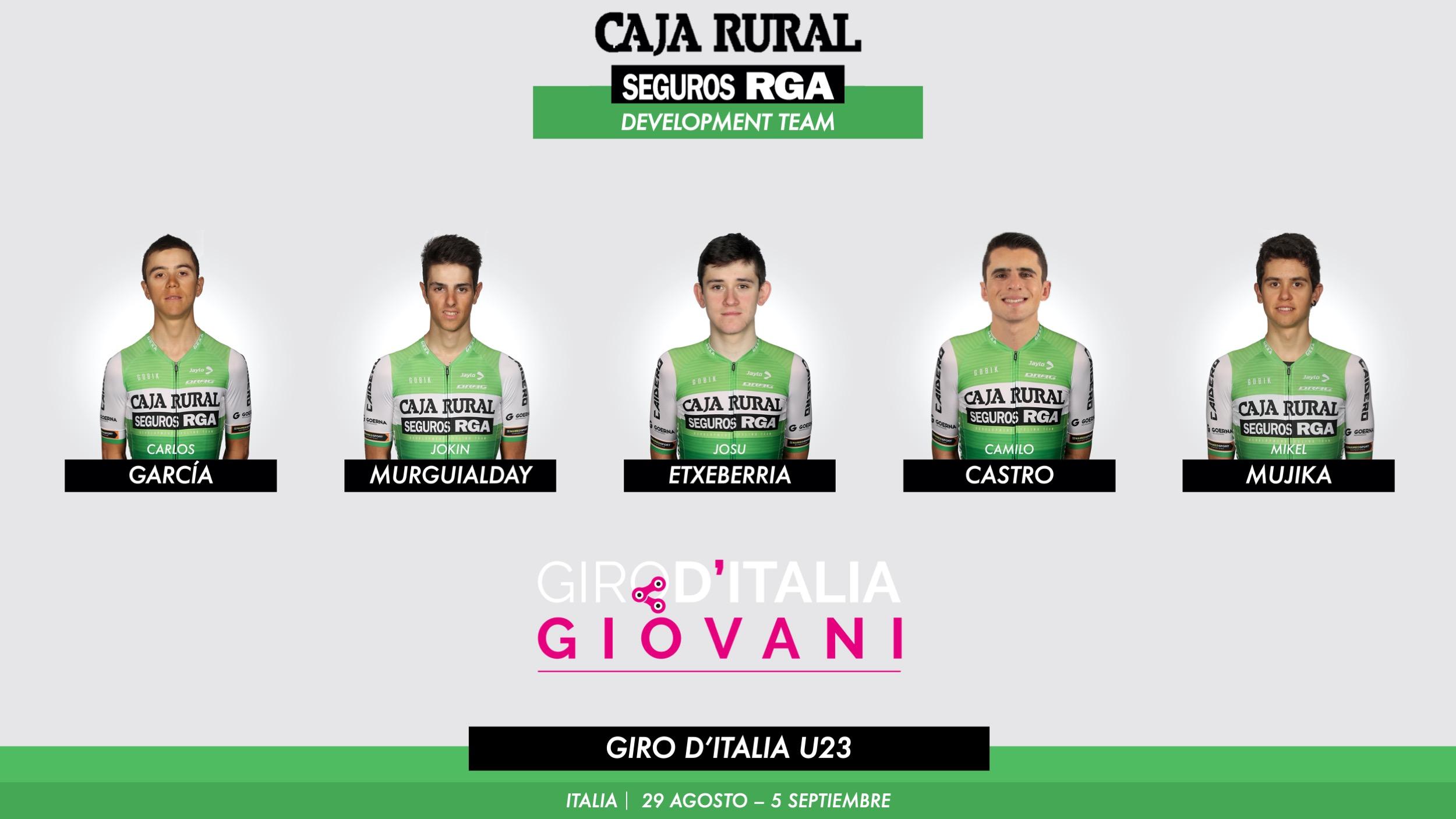 Debuta en el Giro de Italia Under 23 Giovani