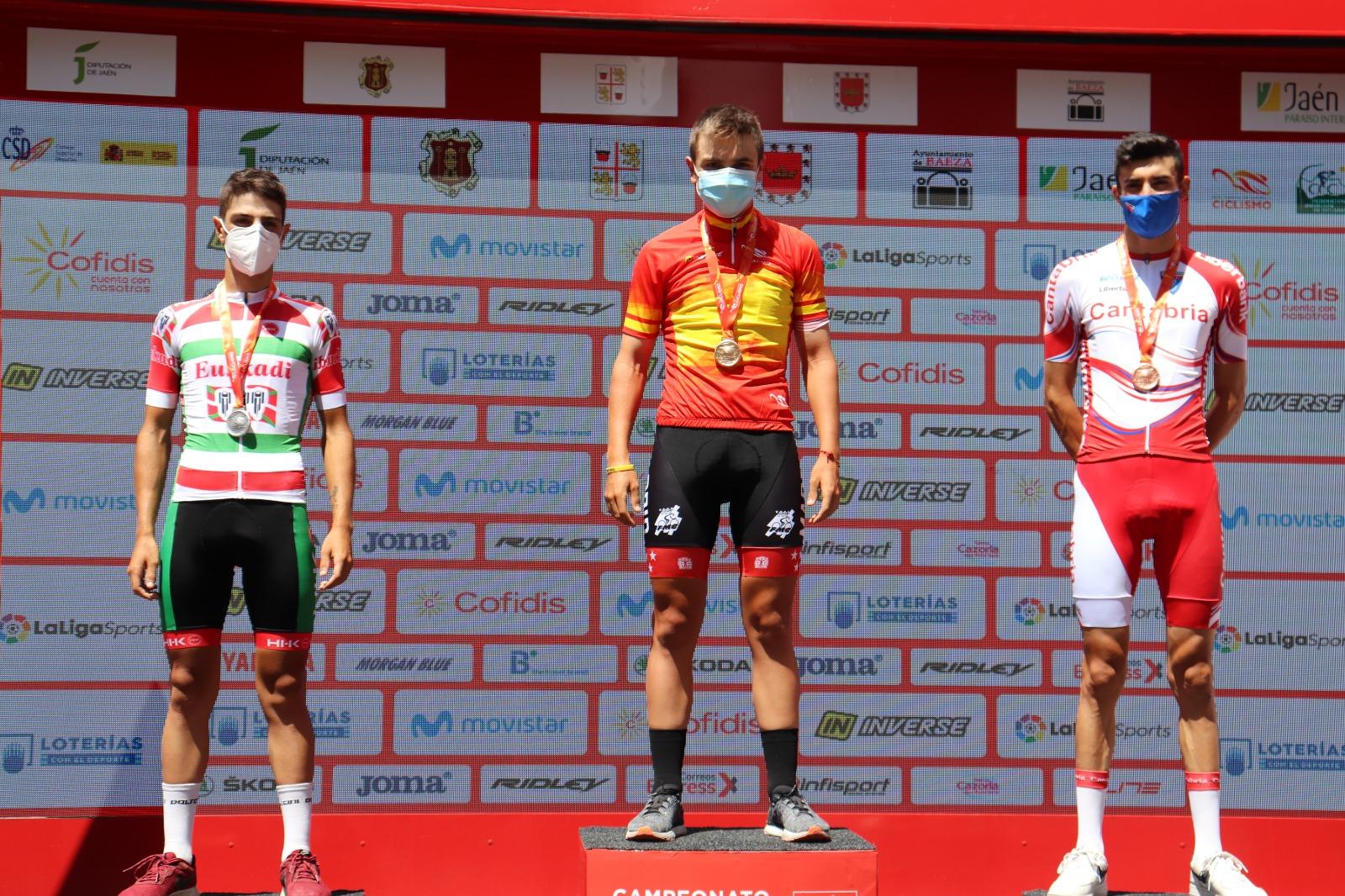 Jokin Murguialday se proclama subcampeón de España CRI en Jaén