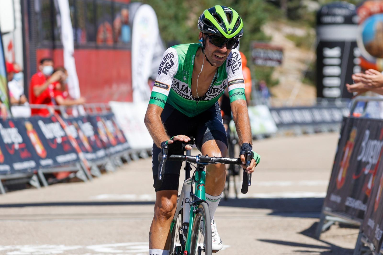 Caja Rural-Seguros RGA cierrauna semana de protagonismo en la Vuelta a Burgos
