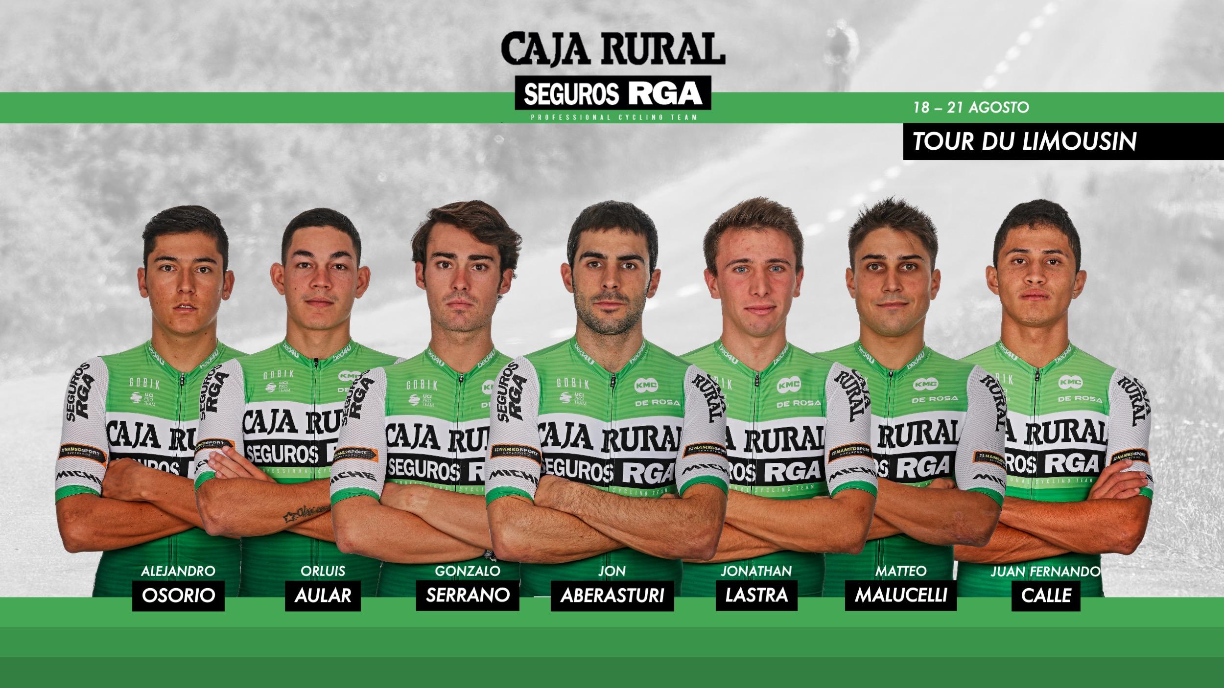 Caja Rural-Seguros RGA acude con ambición al Tour du Limousin