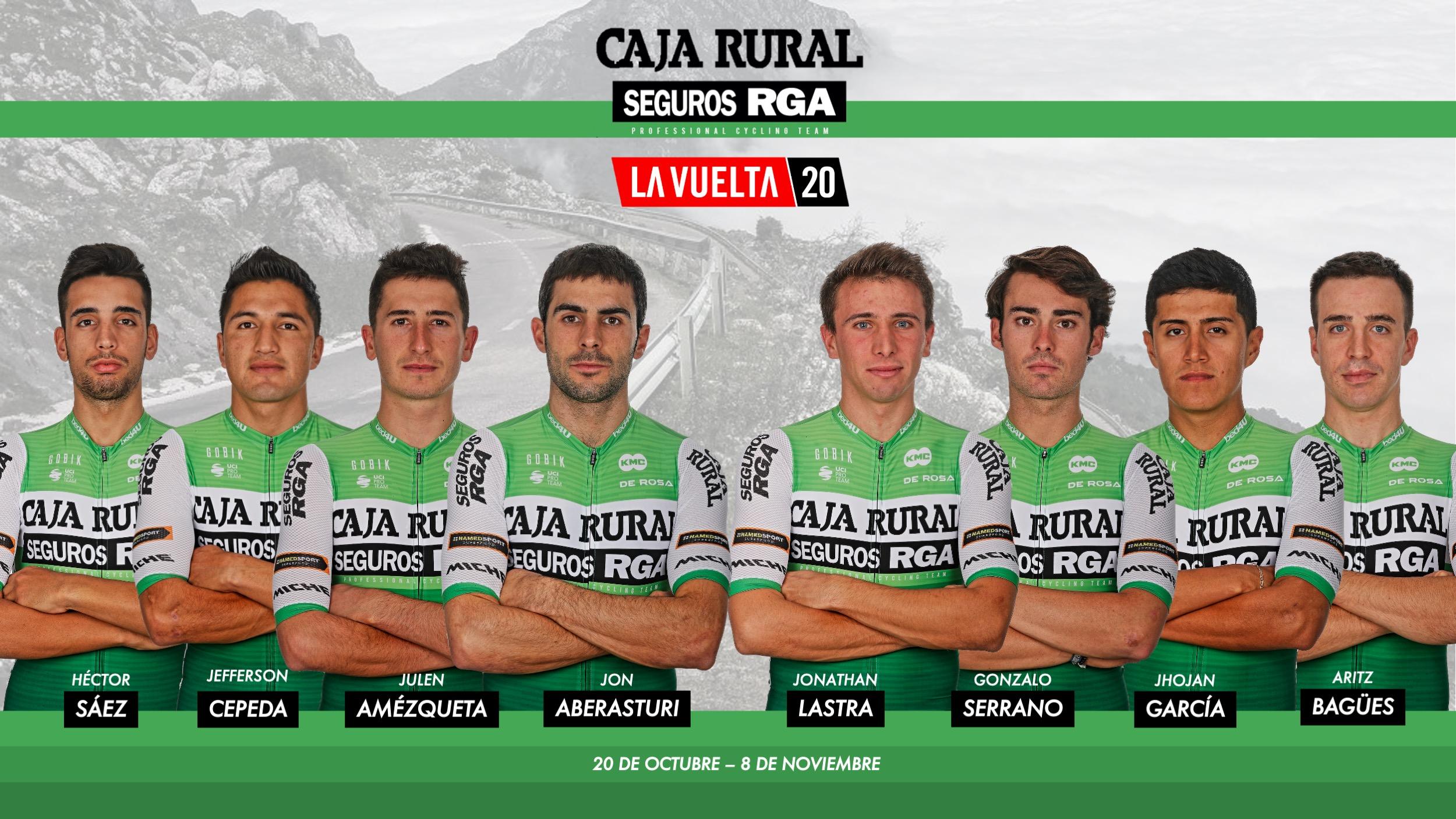 Ocho elegidos para el gran reto de la temporada de Caja Rural-Seguros RGA