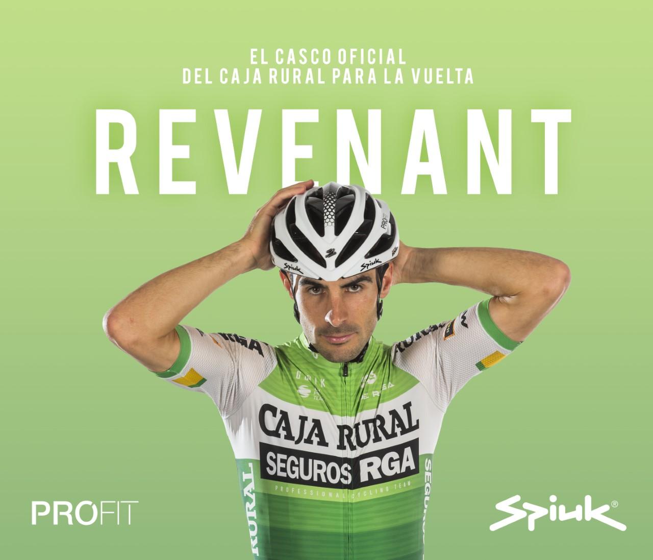Los ciclistas de Caja Rural-Seguros RGA contarán con el nuevo Spiuk PROFIT Revenant