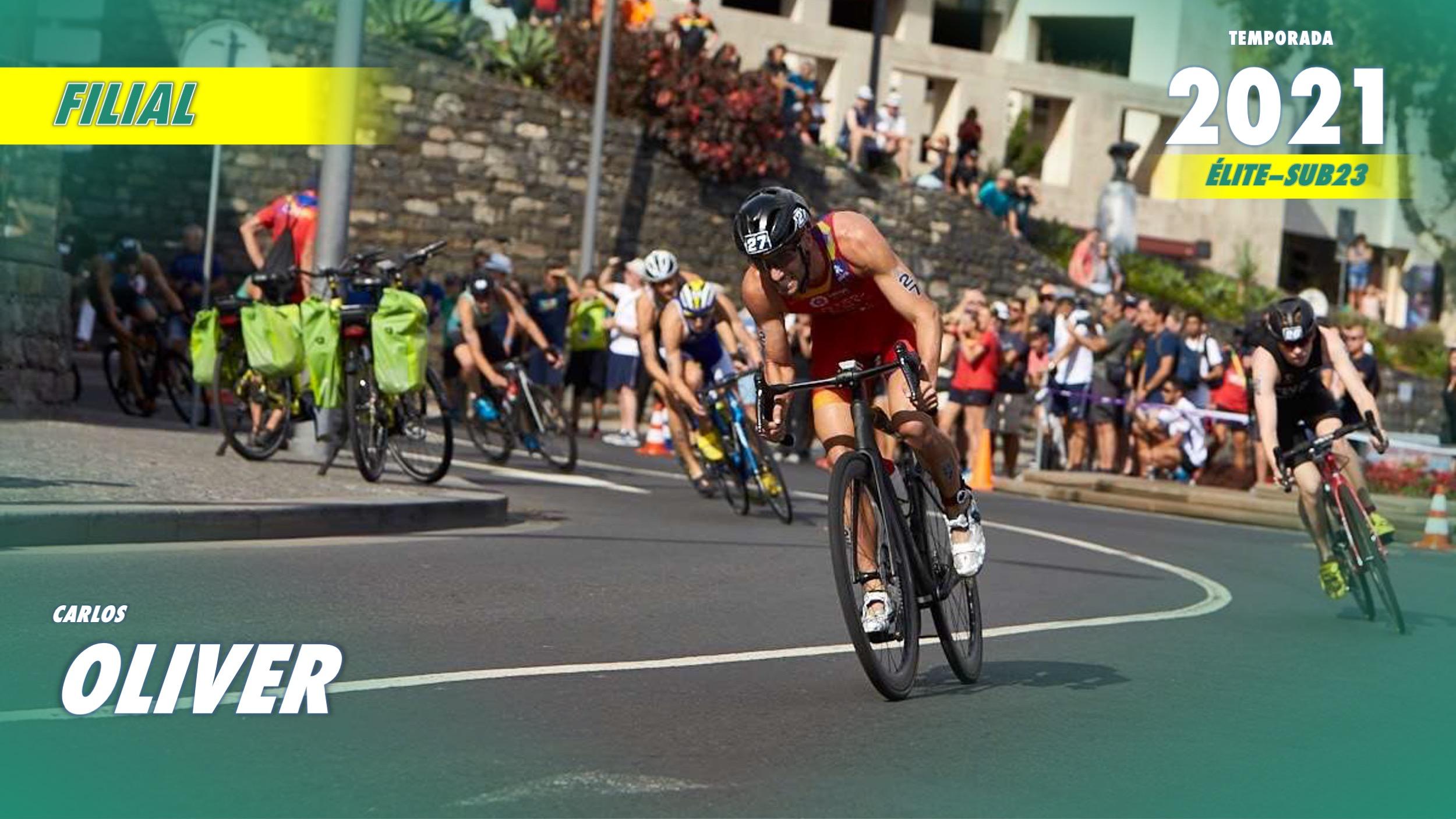 El triatleta Carlos Oliver completa el conjunto filial