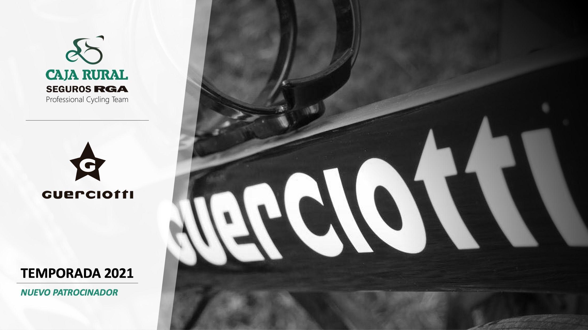 Caja Rural-Seguros RGA utilizará bicicletas Guerciotti