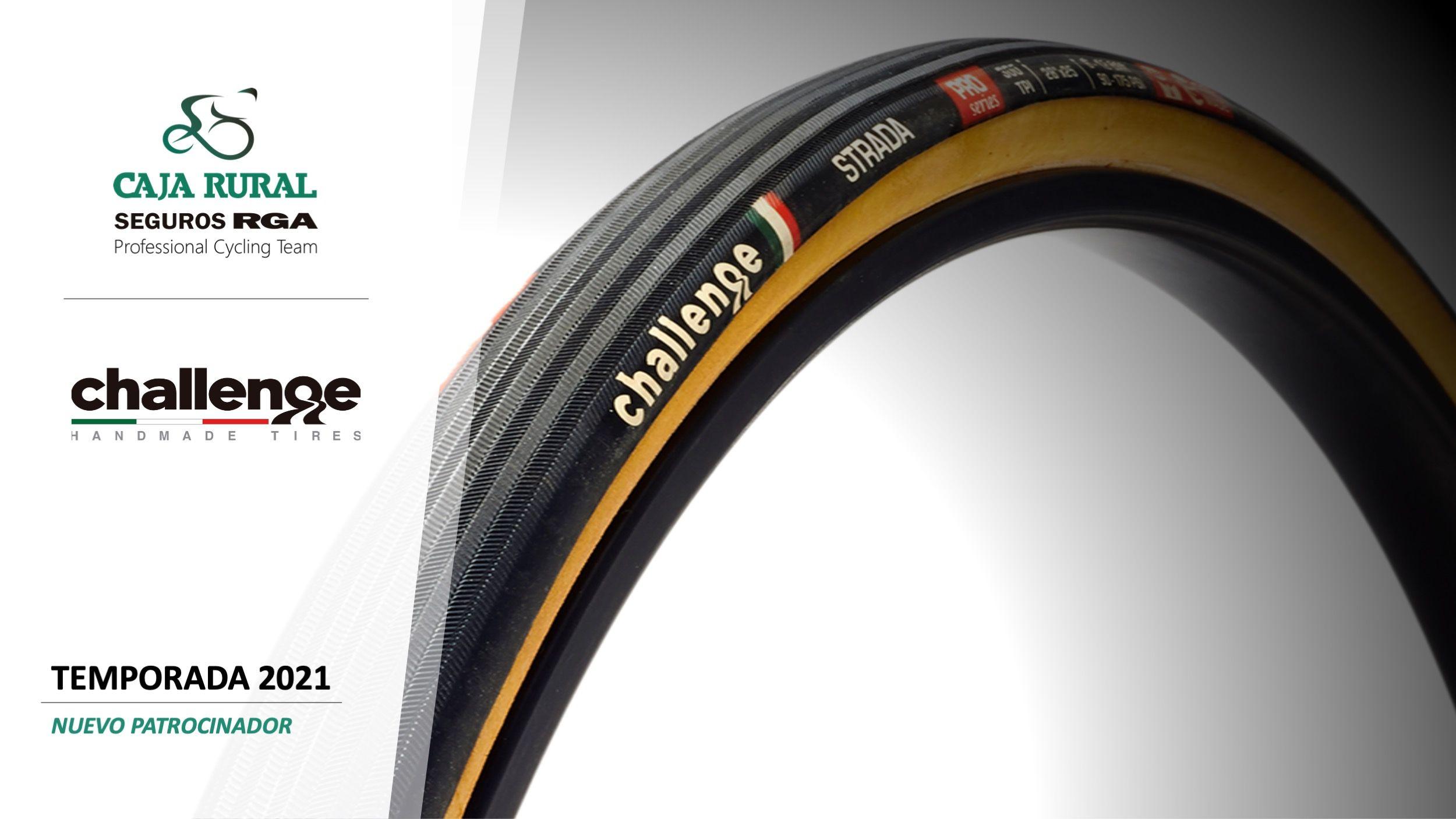 Challenge Tires se une a Caja Rural-Seguros RGA