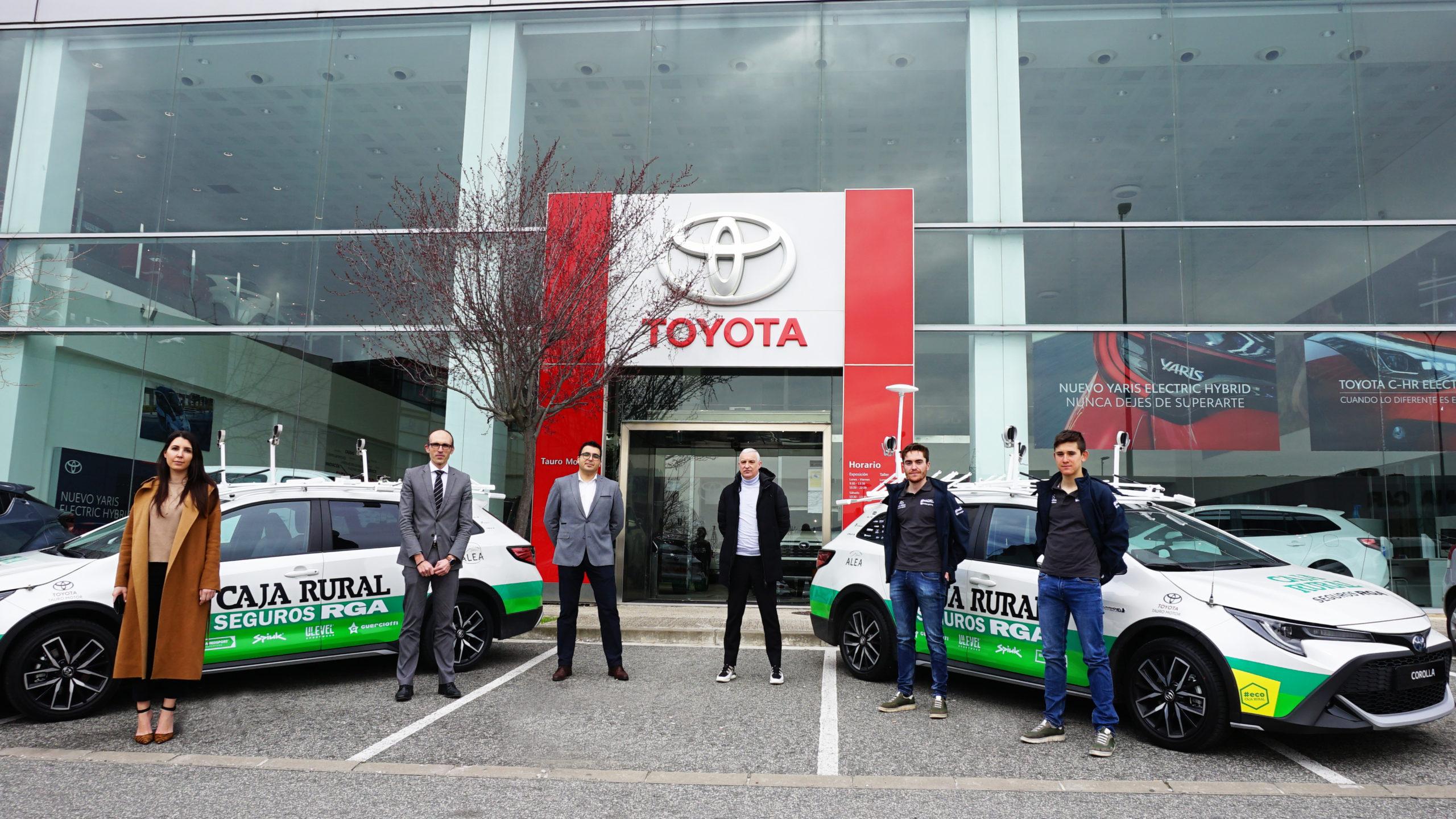 Un Caja Rural-Seguros RGA más sostenible con Toyota España