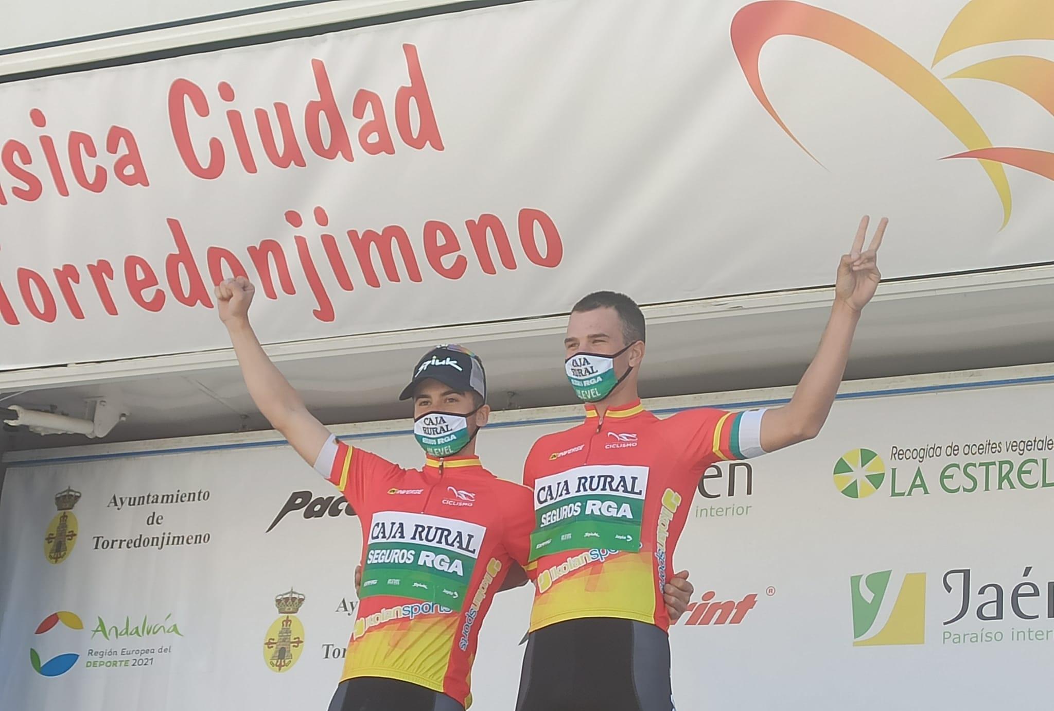 Brustenga y Serrano recuperan el maillot de líder de la Copa de España