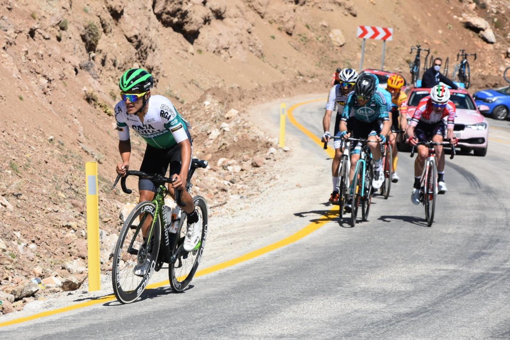 Jhojan García: «trataré de ir a por al podio en lo que queda de carrera»