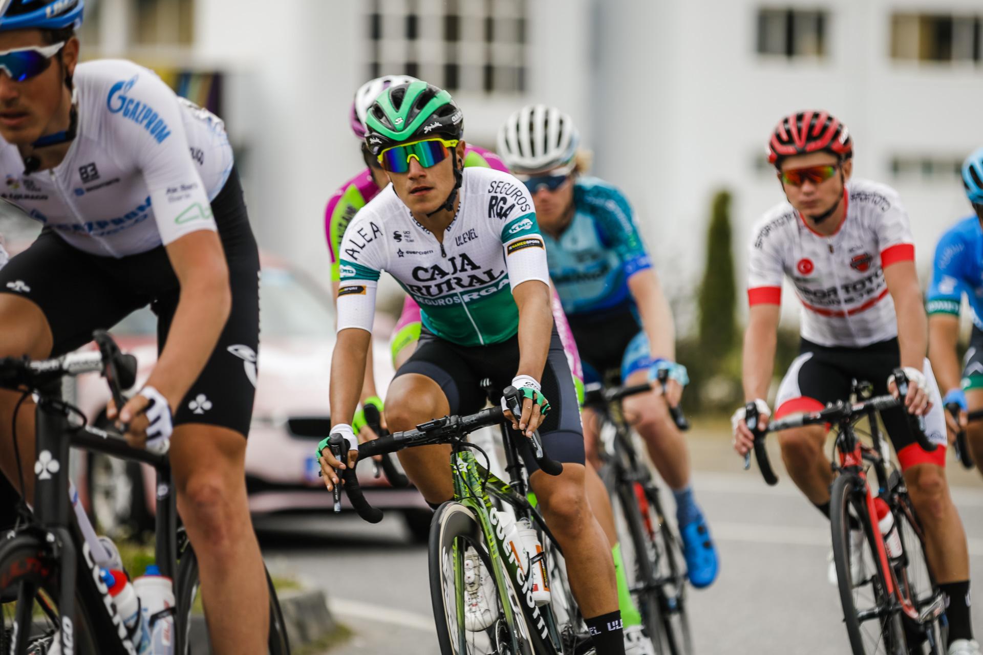 Jhojan García buscó el podio hasta el final en la Vuelta a Turquía