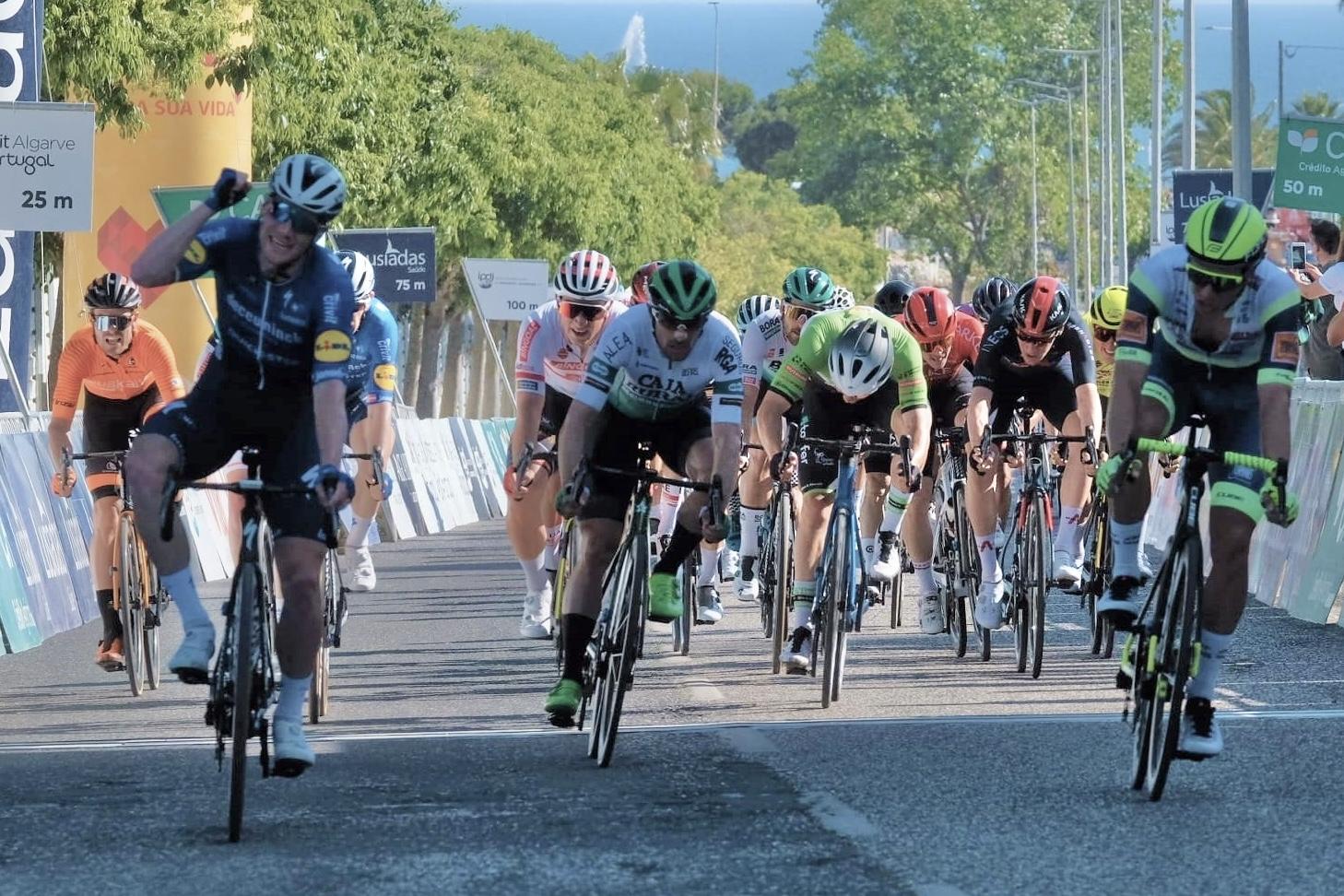 Tercer puesto y montaña para un buen inicio del equipo en Algarve