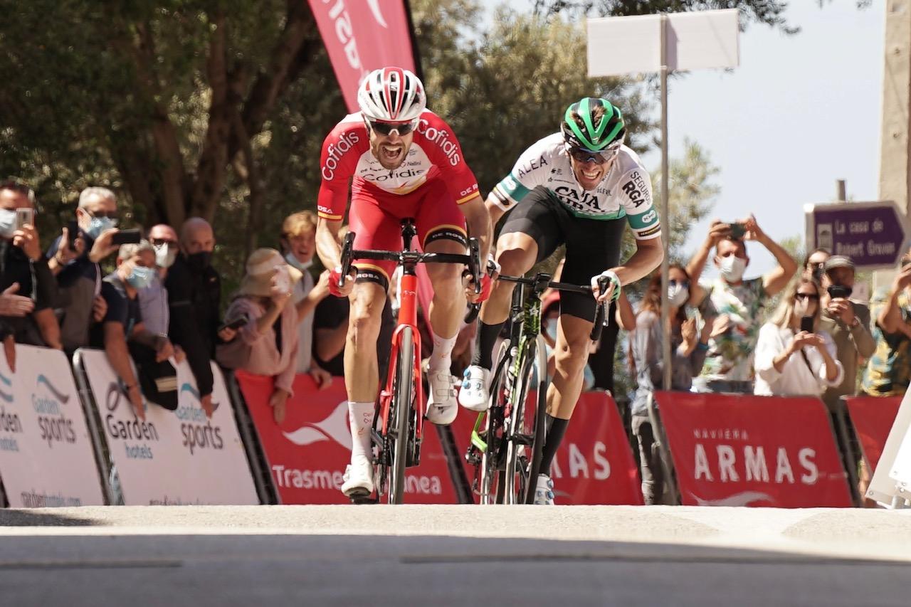 Jonathan Lastra acaricia la gloria en el Trofeo Serra de Tramuntana