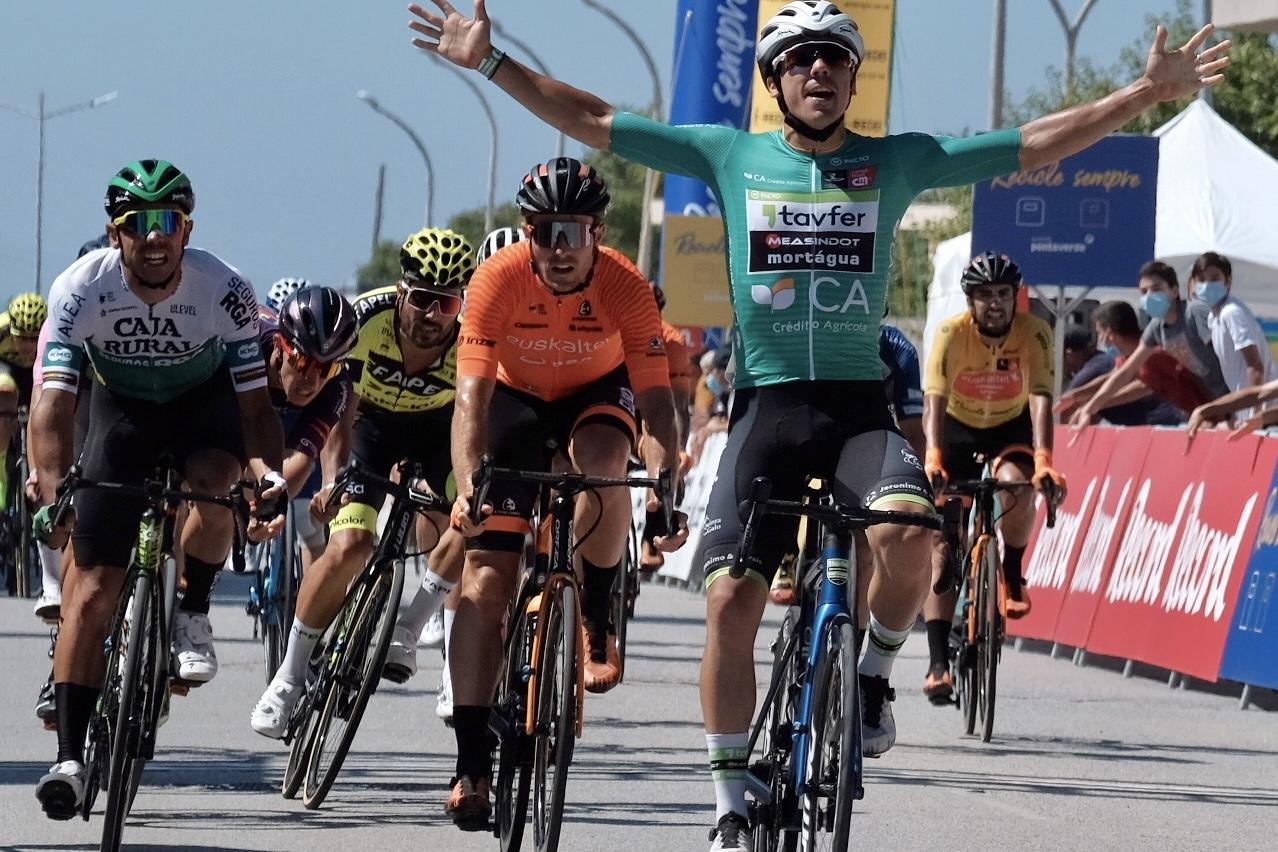 David González repite tercer puesto en el segundo sprint de Alentejo