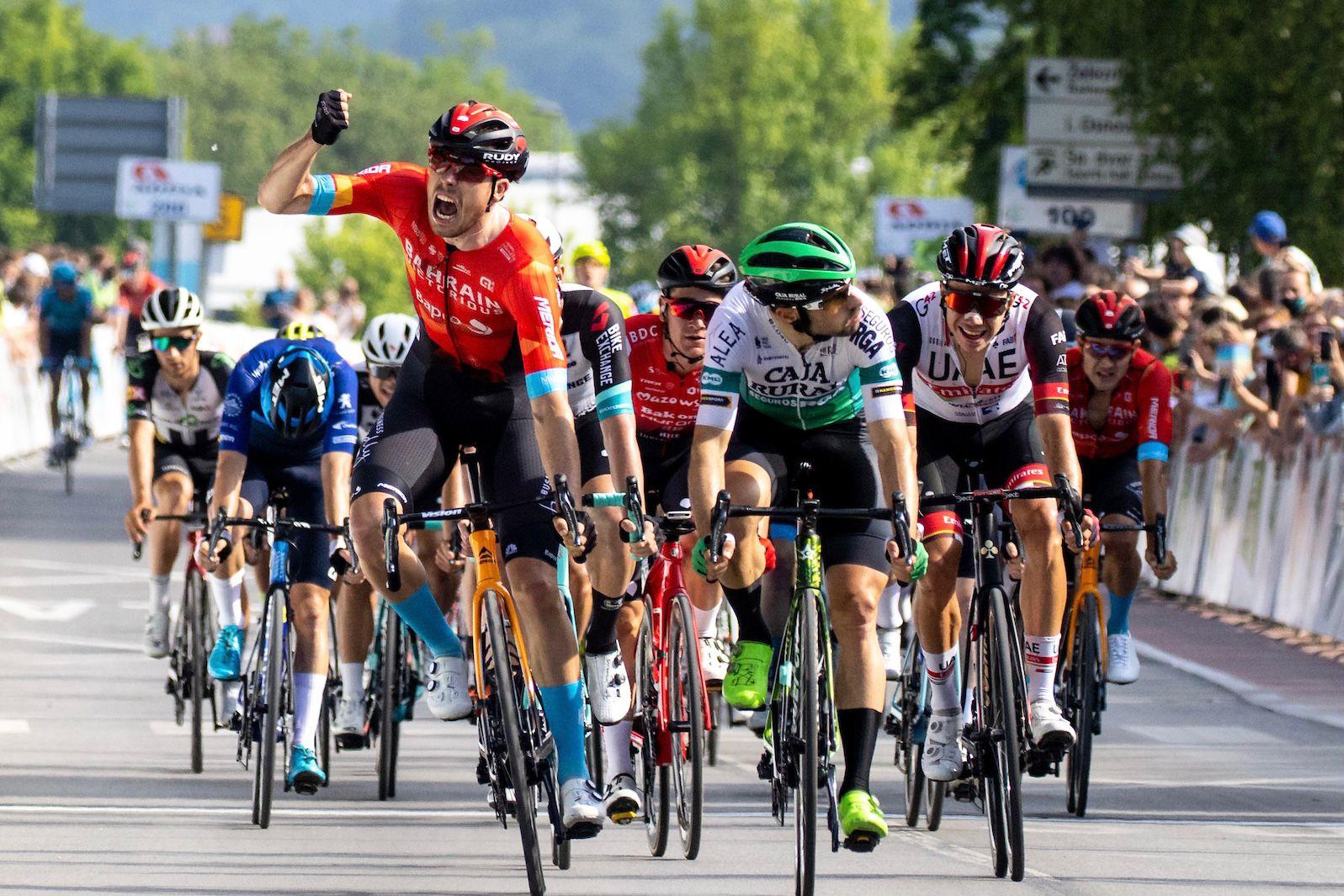 Jon Aberasturi cierra el Tour de Eslovenia con un quinto puesto en Novo Mesto