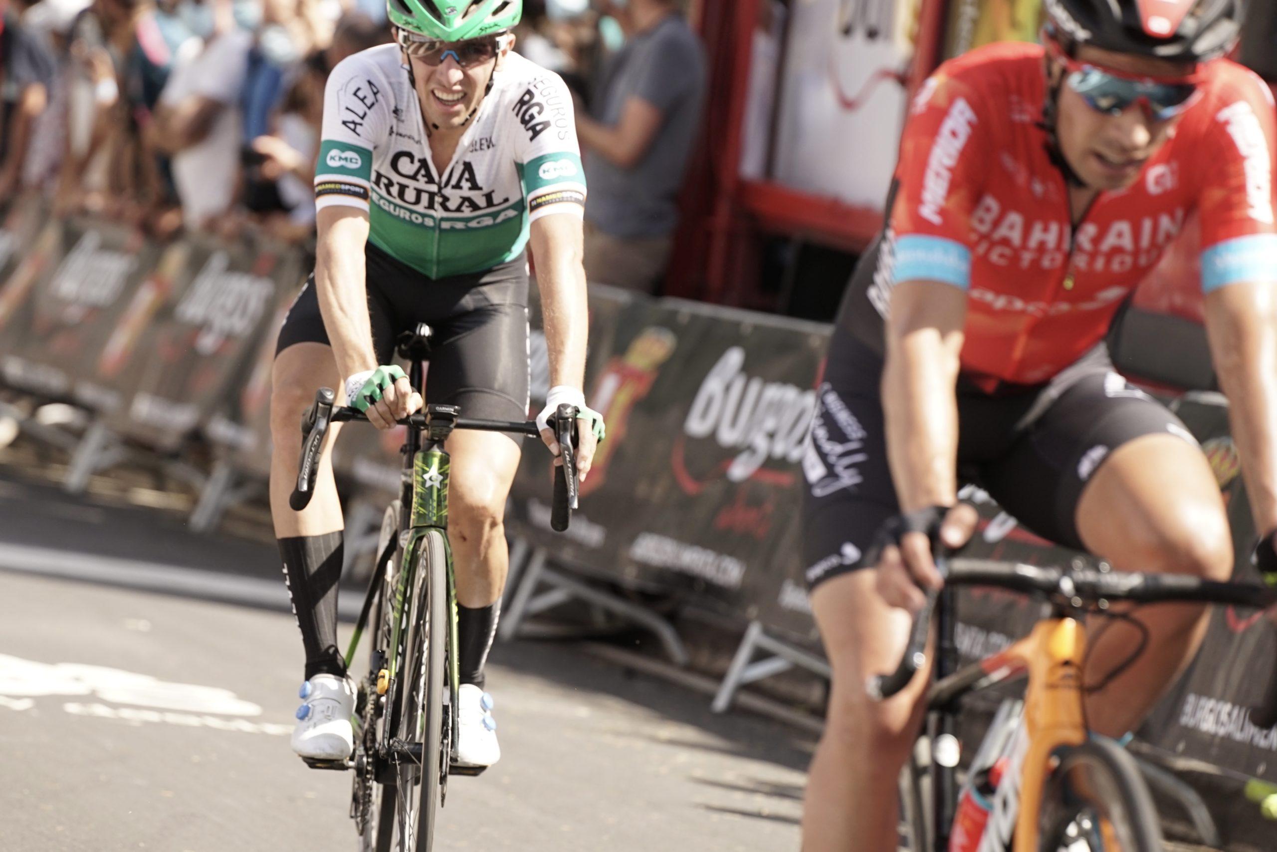 Jonathan Lastra se posiciona en el inicio de Vuelta a Burgos
