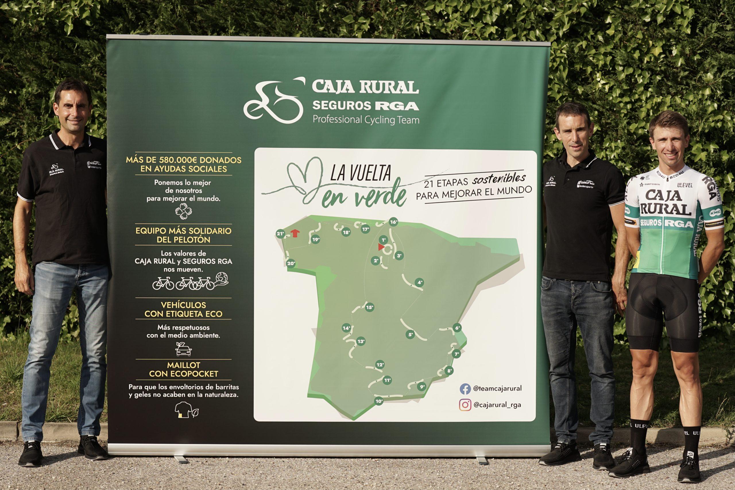'La Vuelta en Verde', nueva Iniciativa Solidaria 2021