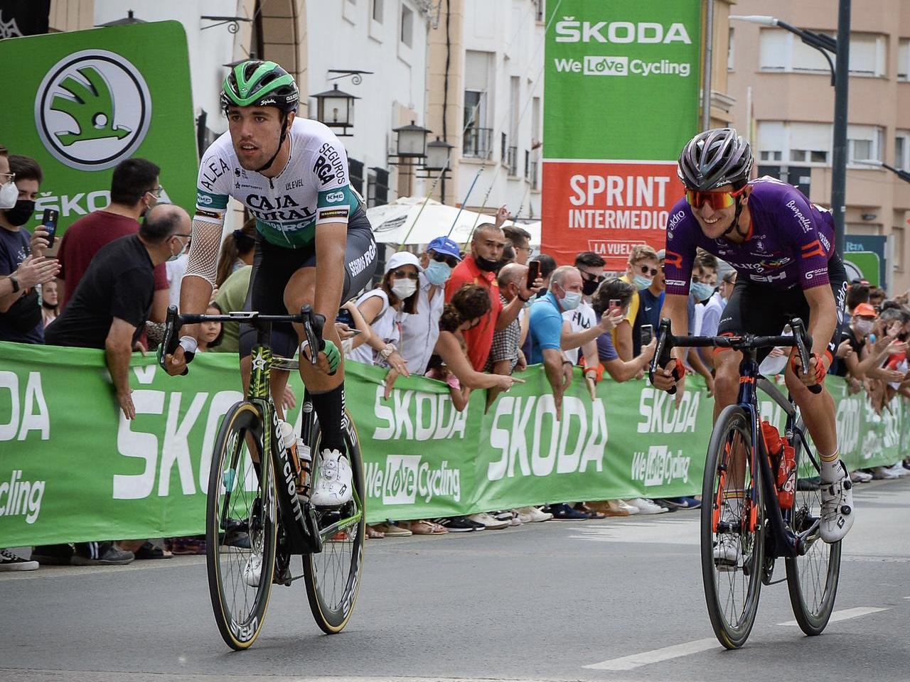 Lazkano presenta credenciales en su terreno; Aberasturi finaliza sexto al sprint