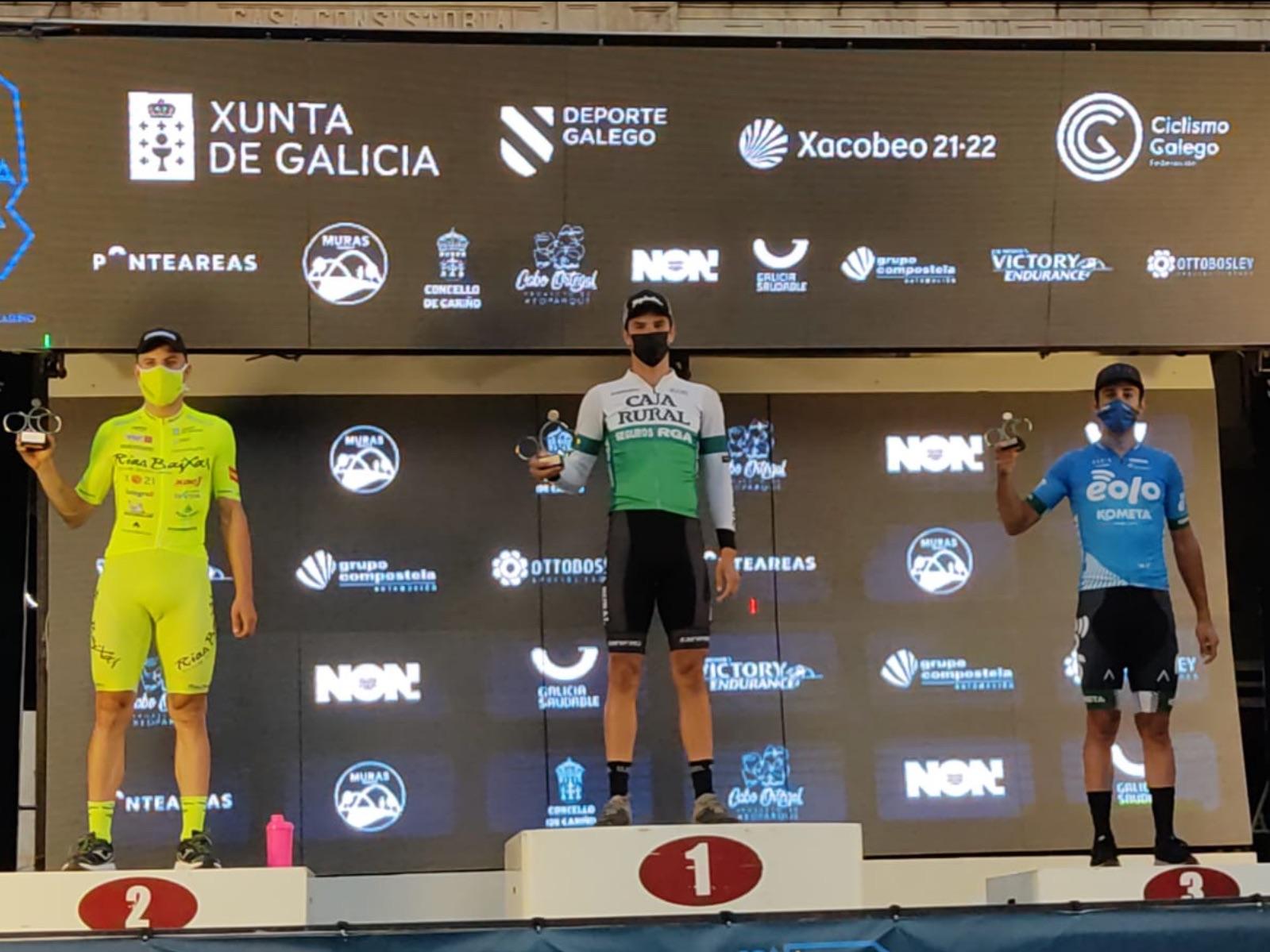 Etapa y liderato para Marc Brustenga en la crono de Volta Galicia